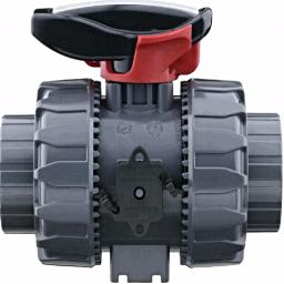 Supreme Ball Valve - Lockable - Double Union - PTFE Seat - EPDM Seals - Plain Ends