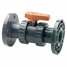 Standard Ball Valve - Double Flanged NP10/16 - PTFE Seat - EPDM Seals