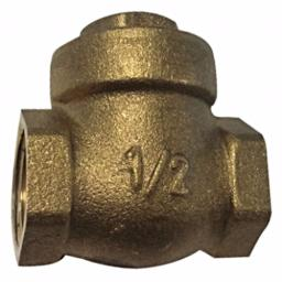 Brass Swing Check Valve - Metal Seat - Inch / Imperial