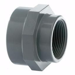 PVC-U Reducing Socket Threaded Imperial / Inch- All sizes