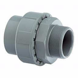 ABS Union Male Thread One End - Inch Imperial