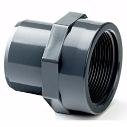 PVC Adaptor Male Plain/Female Threaded Imperial / Inch- All sizes