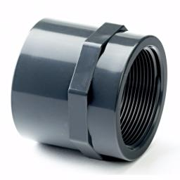 PVC-U Socket Plain / Threaded Imperial / Inch