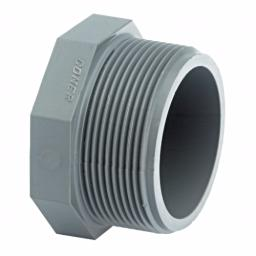 ABS Plug Threaded - Inch / Imperial