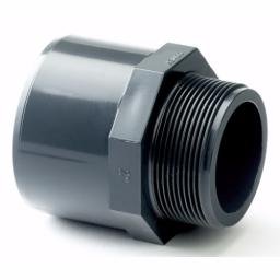 PVC-U Adaptor Female Plain to Male Threaded Imperial / Inch- All sizes