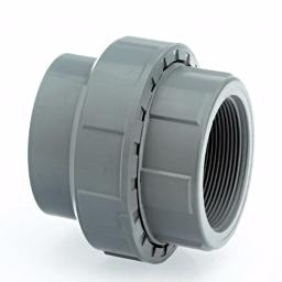 ABS Union Plain to Threaded - Inch / Imperial