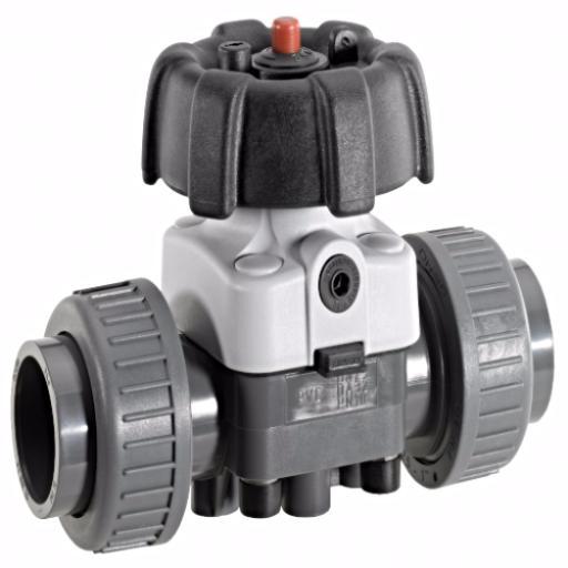 Industrial Diaphragm Valve - Handwheel Operated - PTFE/EPDM Diaphragm