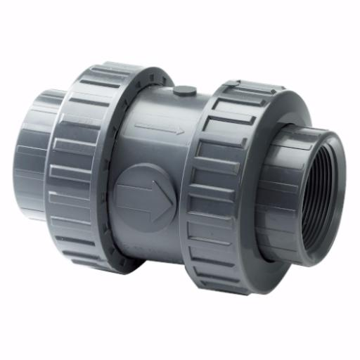 Standard Footvalve - Double Union - EPDM Seals - Threaded Ends