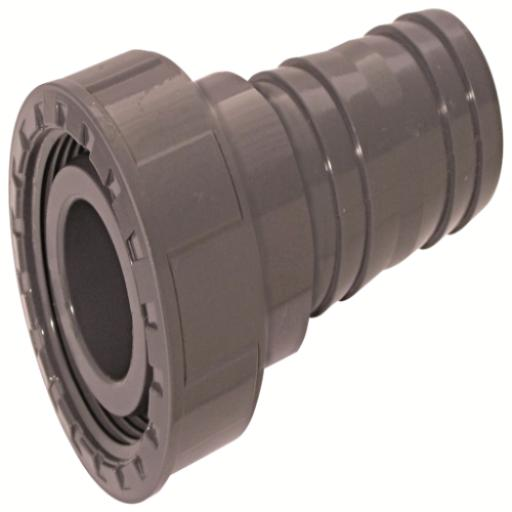 ABS Hose Adaptor Female BSP x MM Hose Tail - Plain / Threaded