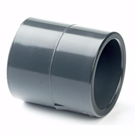 PVC-U Inch/Metric Adaptor Socket Plain - All sizes
