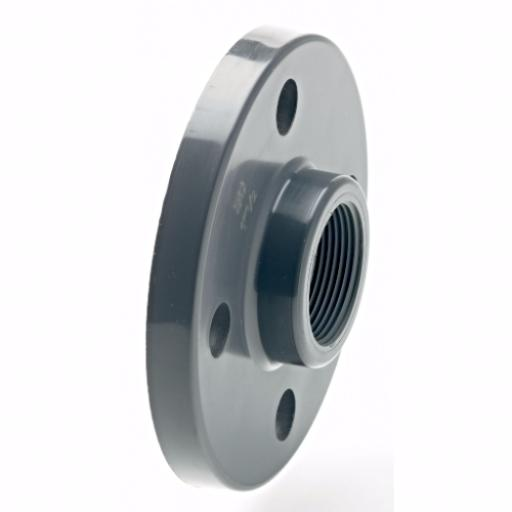 PVC-U Full Face Flange Threaded Imperial / Inch