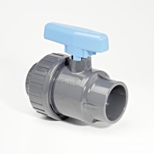 ABS Standard Ball Valve - Single Union - Inch / Imperial