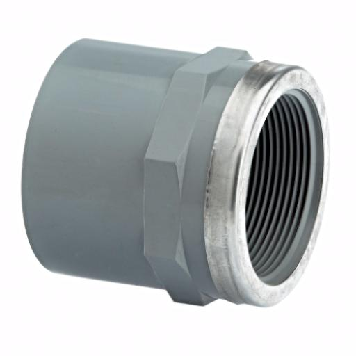 ABS Socket Plain / Threaded Stainless Steel Reinforced