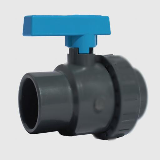 Standard Ball Valve - Single Union - PTFE Seat - EPDM Seat - Plain Ends