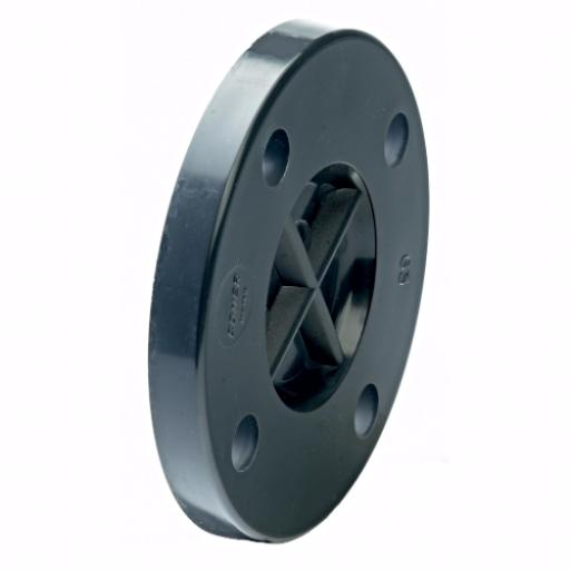 PVC-U PVC Black Flange - BS10 Tables D&E Plain Imperial / Inch