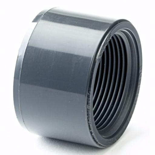 PVC-U Reducing Bush Plain to Threaded Imperial / Inch- All sizes