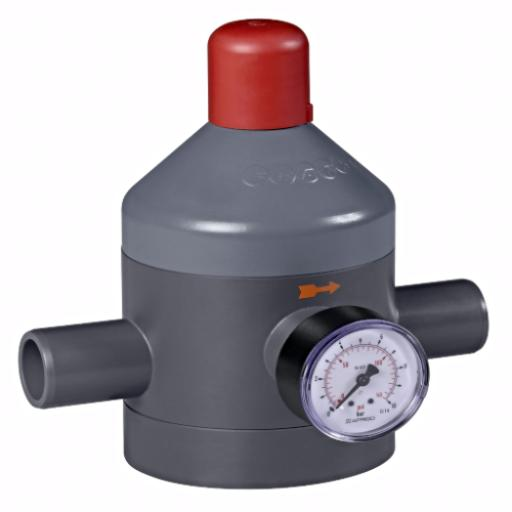 Pressure Reducing Valve - Metric Spigot Ends - FPM Diaphragm