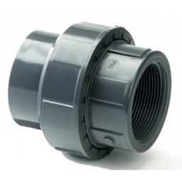 PVC Union - Plain to Threaded BSP Metric - All sizes