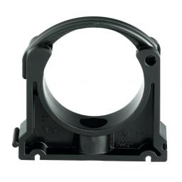 Industrial Pipe Clip - Black PP Metric