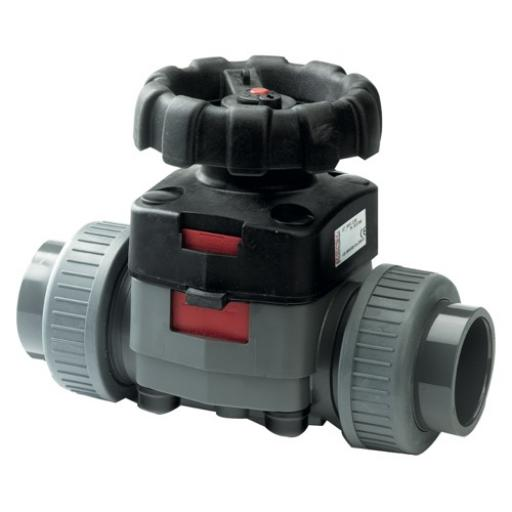 Industrial Diaphragm Valve - Hand Wheel Operated - PTFE/ EPDM Diaphragm