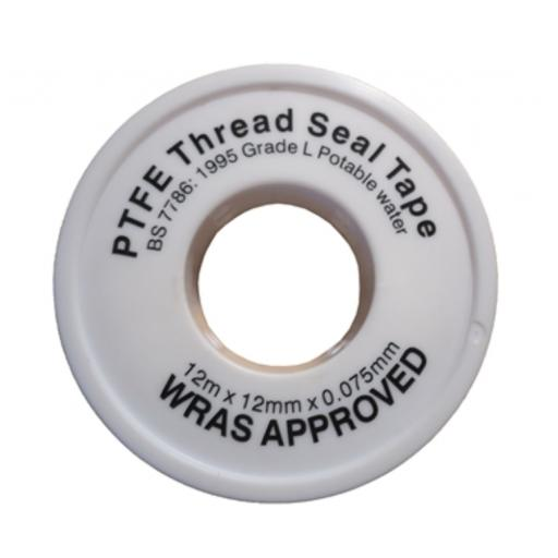 12mm Wide PTFE Thread Seal Tape