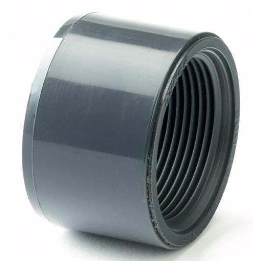 PVC Reducing Bush - Plain / Threaded BSP Metric