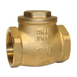 Brass Swing Check Valve - Metal Seat