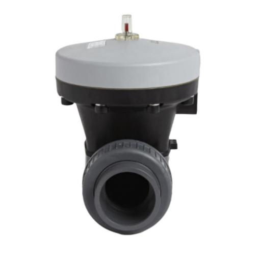 Pneumatically Actuated Diaphragm Valve - Spring Return Actuator -PTFE/EPDM - Fail Safe Close