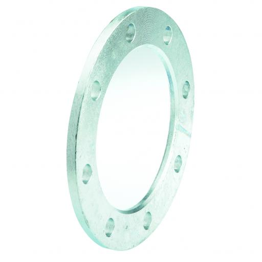 Galvanised Backing Ring drilled BS10 Table D/E