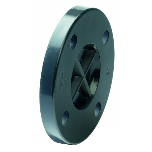 PVC-U PVC Blank Flange - BS4505 NP10/16 Plain Imperial / Inch- All sizes