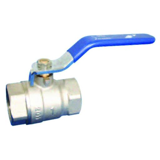 Brass Ball Valve - Blue Lever